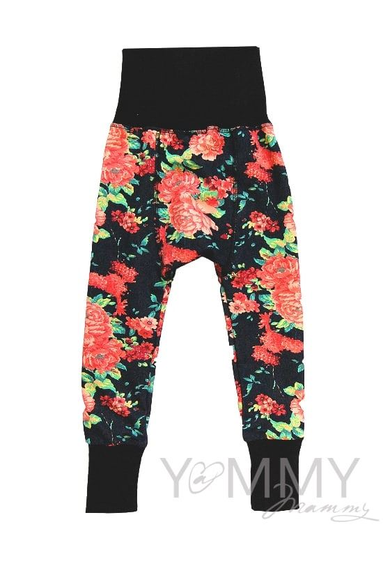 Изображение                               Детский костюм джинсовый с цветочным принтом
