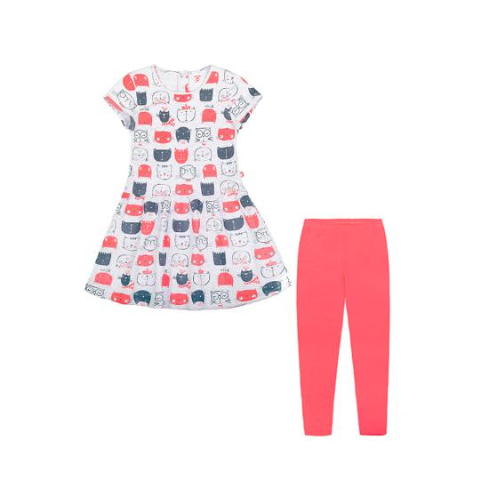 Изображение Crockid Комплект для девочки (туника и леггинсы)